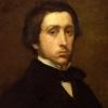 Hilaire-Germain-Edgar Degas, Autoritratto [dettaglio]
