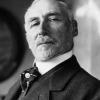 Edmond Aman-Jean, foto del 1918 dell'agence Meurisse