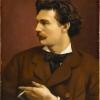 Anselm Feuerbach, Autoritratto   Self-portrait [1875], Staatsgalerie Stuttgart