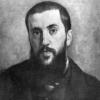 Giuseppe Abbati, Autoritratto