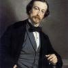 Michele Gordigiani, Ritratto di Cesare Bartolena, 1858, Olio su tela, cm. 83,5 x 64, Museo Civico Giovanni Fattori, Livorno