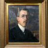 Llewelyn Lloyd, Autoritratto nello studio, 1916 (coll. priv.)