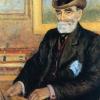 Mario Borgiotti, Ritratto di Luigi Moisè Levi (Ulvi Liegi)