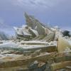 Caspar David Friedrich (Greifswald 1774 - Dresden 1840): Das Eismeer (Il mare di ghiaccio), 1823/24, Olio su tela, 96,7 x 126,9 cm, Hamburg, Hamburger Kunsthalle