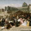 William Powell Frith (Oldfield 1819 - London 1909): Ramsgate sands (Life at the seaside), 1851-54, Olio su tela, cm. 77 x 155,1, London, Royal Collection