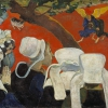 Gauguin, Visione del sermone (Lotta tra Giacobbe e l'angelo).jpg