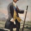 Francisco de Goya y Lucientes (Fuendetodos, Zaragoza 1746 - Burdeos, Francia 1828): Carlos III, cazador (Carlo III, cacciatore), 1786 circa, Olio su tela, cm. 207 x 126, Madrid, Museo del Prado