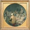 Jean Auguste Dominique Ingres (Montauban 1780 - Parigi 1867): Il bagno turco, 1862, Olio su tela, cm. 108 (diametro), Parigi, Musée du Louvre