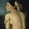 Jean Auguste Dominique Ingres (Montauban 1780 - Parigi 1867): La bagnante, senza data, Olio su tela, 78 x 67, Bayonne, Musée Bonnat
