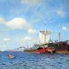 Isaak Ilich Levitan (1860-1900): Fresca brezza. Volga, 1891-95, olio su tela, cm. 72 x 123, Mosca, Galleria Tretyakov