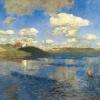 Isaak Ilich Levitan (1860-1900): Lago, 1900, olio su tela, cm. 149 x 208, San Pietroburgo, Museo di Stato Russo