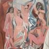 Pablo Picasso, Les Demoiselles d'Avignon, 1907, Olio su tela, cm. 243,9 x 233,7, MOMA - Museum of Modern Art, New York, inv. n. 333.1939, acquisto 1939