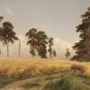 Ivan Ivanovich Shishkin (1832-1898):  Segale, 1878, olio su tela, cm. 107 x 187, Mosca, Galleria Tretyakov