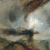 William Turner (Londra 1775 - Chelsea 1851): Snow Storm, steam-boat off a Harbour's mouth (Tempesta di neve, battello a vapore al largo dell'imboccatura di un porto, 1842 circa, Olio su tela, 91 x 122, Londra, Tate