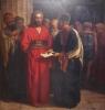 Francesco Saverio Altamura, Gesù, legato, ascolta la lettura del giudizio che lo condanna (Il silenzio di Gesù), Pompei, Santuario della Madonna del Rosario