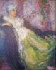 Edmond Aman-Jean, La prigioniera | La captive | The captive, 1913, Collezione privata
