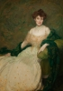Edmond Aman-Jean, Ritratto della signora Albert Herter | Portrait de Madame Albert Herter | Portrait of Mrs. Albert Herter
