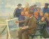 Anna Ancher, Michael Ancher pittore (Michael Ancher maler), 1920
