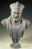 Zacharie Astruc, François Rabelais, 1855- 1907, Busto in gesso, cm. H. 83 x L. 55 x P. 35, Angers, Musée des Beaux Arts, inv. n. MBA 1104, Dono degli eredi Astruc