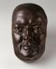 Zacharie Astruc, Honoré de Balzac, 1882, maschera in bronzo, H. 24,2 x L. 14,3 x P. 9,0 cm., dono di M. Christian Reiss, 1987, RF 4192