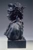 Zacharie Astruc, Isabelle Astruc, 1877, Busto in bronzo, cm. A. 61 x L. 43 x P. 31, Angers, Musée des Beaux Arts, inv. n. MBA 1105, Dono degli eredi Astruc