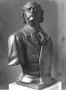 Zacharie Astruc, Jules Barbey d'Aureville, XIX secolo, 1876, Scultura in bronzo, cm. H. 82 x L. 62 x P. 35, Musée Barbey d'Aurevilly, Saint-Sauveur-le-Vicomte, France