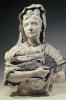 Zacharie Astruc, Madame Astruc en Espagnole | Madame Astruc alla spagnola, 1878 circa, Busto in gesso, cm. H. 80 x L. 55 x P. 38, Angers, Musée des Beaux Arts, inv. n. MBA 1102, Dono degli eredi Astruc