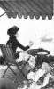 Jean Béraud, Un caffè in riva al mare | Un café au bord de la mer, 1884