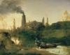Carl Blechen (Cottbus 1798- Berlin 1840): Das Walzwerk bei Eberswalde (Il laminatoio a Eberswalde), 1830, Olio su legno, cm. 25,5 x 33, Berlin, Staatliche Museen zu Berlin - Preußischer Kulturbesitz, Nationalgalerie