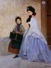 Odoardo Borrani, La modista, collezione privata