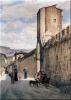 Odoardo Borrani, Porta al Prato, Firenze
