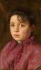 Odoardo Borrani, Ritratto di bambina