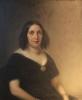 Giovanni Carnovali (detto il Piccio), Ritratto della signora Anna Biondi Carloni, Museo Civico Ala Ponzone, Cremona, Italia