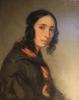Giovanni Carnovali (detto il Piccio), Ritratto di Giuseppina Mariani, Museo Civico Ala Ponzone, Cremona, Italia