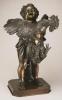Adriano Cecioni, Bambino col gallo, 1868 (modellatura), 1873 (fusione), bronzo, cm. 78,7 x 48,3 x 43,2 cm, Philadelphia Museum of Art, Pennsylvania, USA