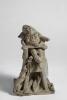 Adriano Cecioni, Bambino, XIX secolo, terracotta, 22 x 14 x 12 cm, Collezione privata