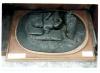 Adriano Cecioni, Figura maschile distesa, XIX secolo, 1850 - 1874 ante, gesso / bronzatura, 20 (altezza) x 45 (larghezza) x 66 (lunghezza) cm, Napoli, Museo Nazionale di Capodimonte, Codice ICCD 15 00327449