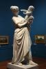 Adriano Cecioni, La madre, XIX secolo, 1884 circa-1886 circa, marmo, cm. 180 x 50 x 78, Roma, Galleria Nazionale d'Arte Moderna, Codice Codice ICCD 12 00826913