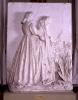 Adriano Cecioni, Una visita al sepolcro, XIX secolo, 1865, rilievo in gesso/modellatura, cm. 155 x 113 x 31, Firenze, Palazzo Pitti, Galleria d'Arte Moderna, Codice ICCD 09 00342195
