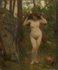 Giovanni (Nino) Costa, La ninfa di Fontainebleau, XIX secolo, Collezione privata