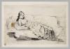 Giuseppe De Nittis, Donna distesa su un divano, seconda metà del XIX secolo, Stampa