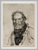 Giuseppe De Nittis, Uomo a mezzo busto, seconda metà del XIX secolo, Stampa