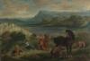 Eugène Delacroix (Charenton-Saint-Maurice, Parigi 1798 - Parigi 1863): Ovide chez les Scythes (Ovidio tra gli Sciti), 1859, Olio su tela, cm. 87,6 x 130,2, Londra, National Gallery