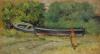 Giovanni Fattori, Barche a secco, dipinto