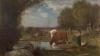 Antonio Fontanesi, [Mucche all'abbeverata]