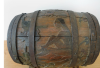 Paul Gauguin, Barile decorato | Verziertes Fass | Ornate barrel | Bari decoré, 1889-1890, scultura, intaglio decorato su di botte di legno, 31 x 31 x 36 cm, numero d'inventario SK103DL, Prestito permanente dalla Collezione privata J. Latner, Svizzera, Vienna, Albertina