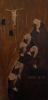 """Paul Gauguin, Matteo 5-8 (Beati i puri di cuore perché vedranno Dio - già: """"Panneau religieux"""" ), 1889 circa, legno policromo scolpito, cm. 62 x 31 x 1,7, Musei Vaticani, dono del Card. Alberto di Jorio, 1973, inv. MV_23209_0_0"""