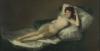 Francisco de Goya y Lucientes (Fuendetodos, Zaragoza 1746 - Burdeos, Francia 1828): La maja desnuda, prima del 1800, Olio su tela, cm. 98 x 191, Madrid. Museo del Prado