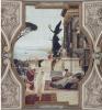 Gustav Klimt, Il teatro di Taormina | Das Theater in Taormina, 1886, Affresco, cm. 750 x 400, Burgtheater, Wien, Österreich