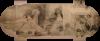 Gustav Klimt, Cartone in scale reale per l'affresco Il Globe Theatre di Londra, Burgtheater Wien, Foyer Angelika Prokopp Foyer - Klimtroom